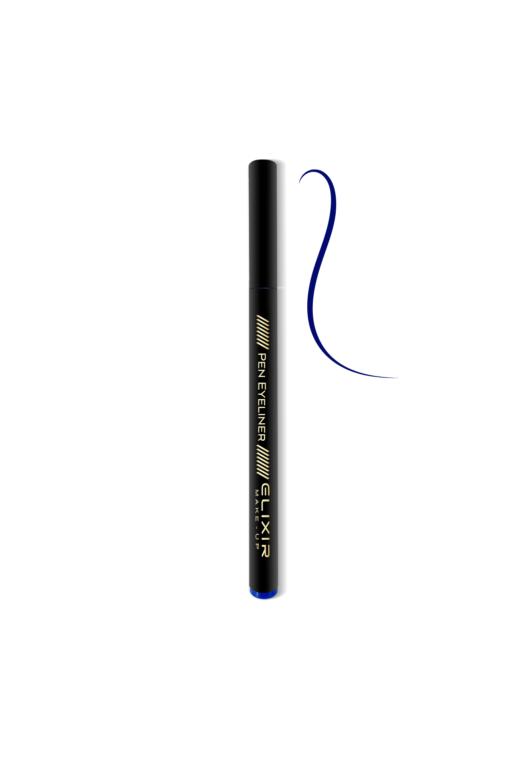 elixir eyeliner blue close