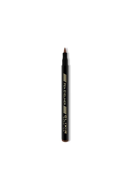 elixir eyeliner brown open