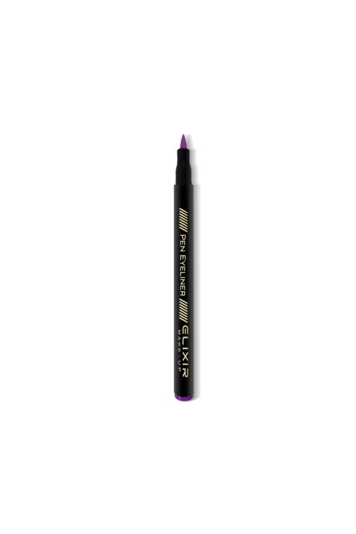 elixir eyeliner plum open