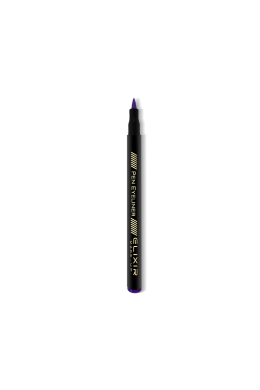 elixir eyeliner violet open